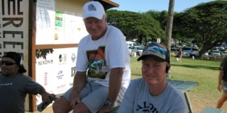 Reef Hawaiian Pro 2010 : Randy et Sean