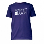 T-Shirt Respect Your Beach